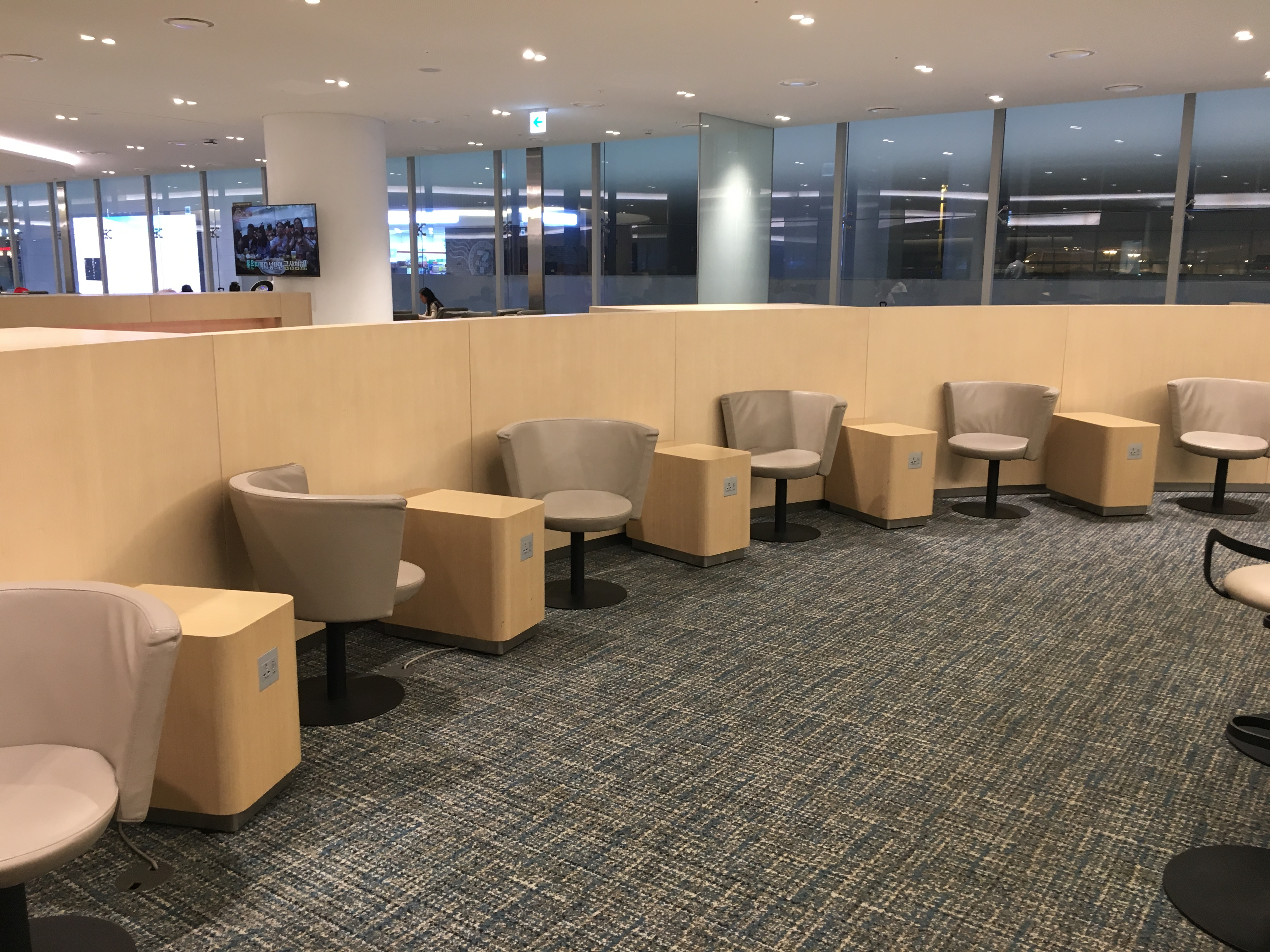 Lounge Review : ソウル仁川空港(ICN)ターミナル2 KALプレステージラウンジ West(KAL Prestige Lounge)