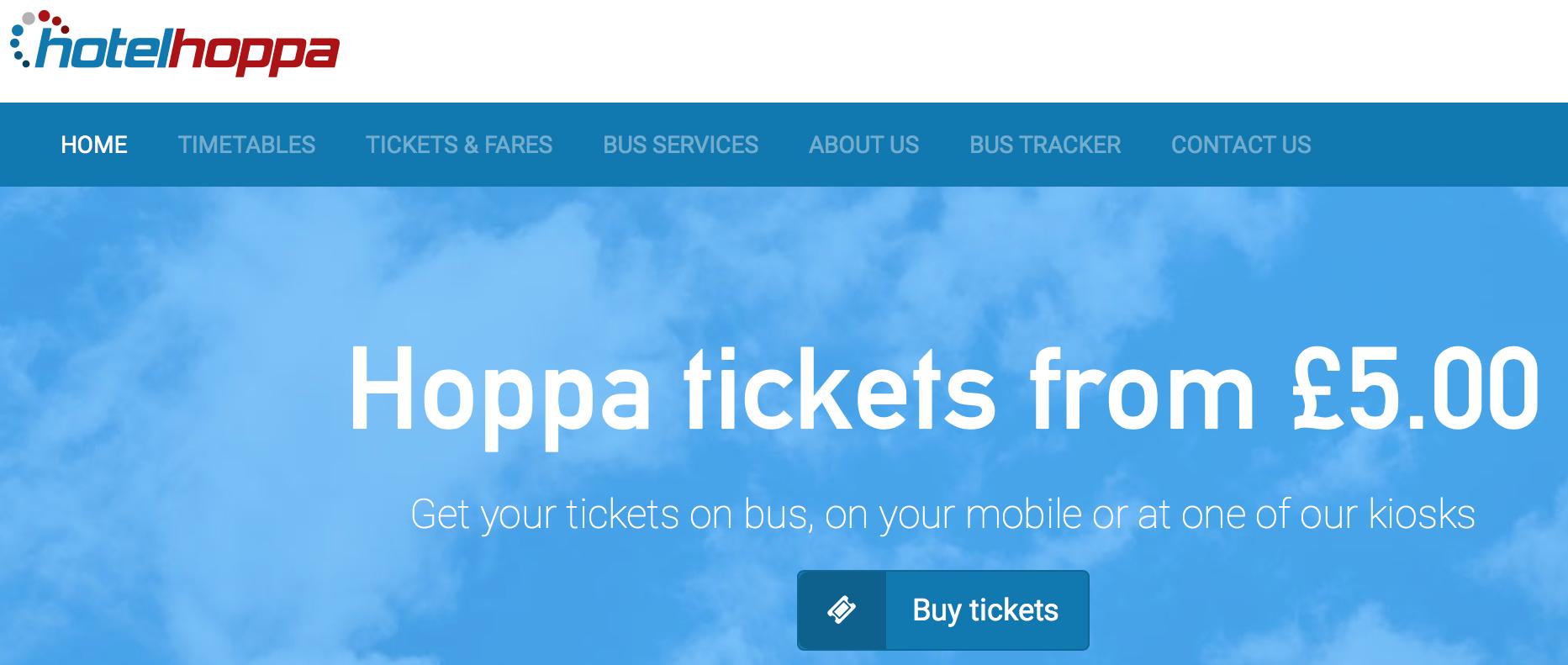 ロンドン・ヒースロー空港(LHR)周辺のホテルを運行する「Hotel Hoppa」徹底攻略