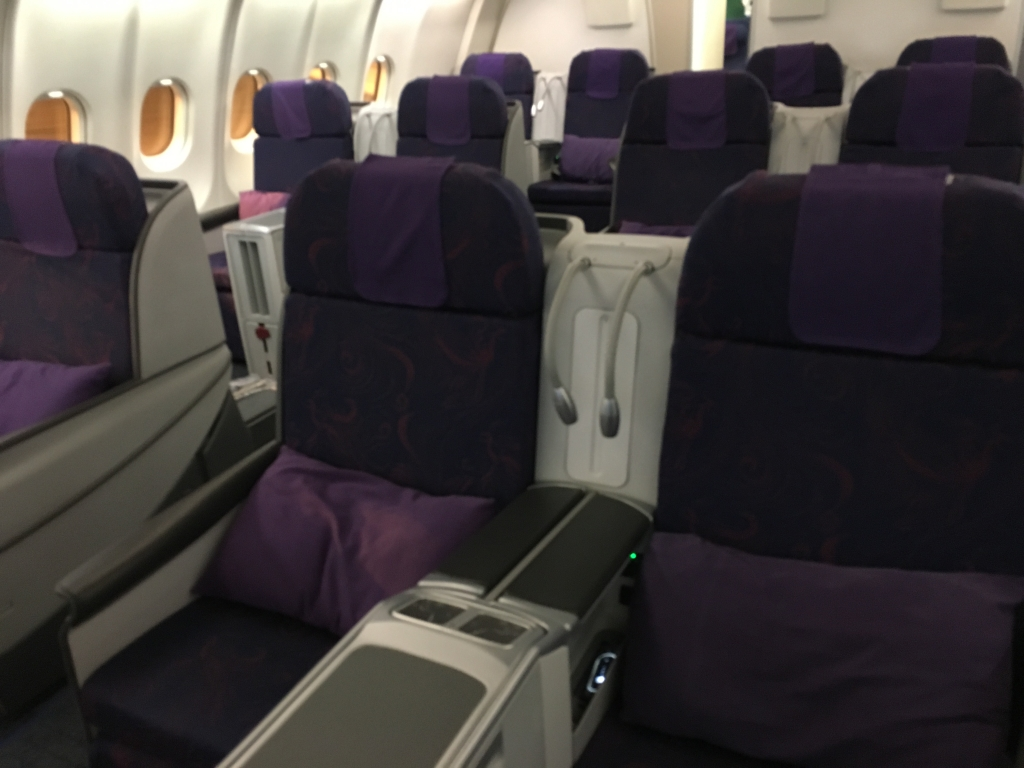Business Class Review : 中国国際航空(CA) CA941  北京首都(PEK) – ドバイ(DXB)