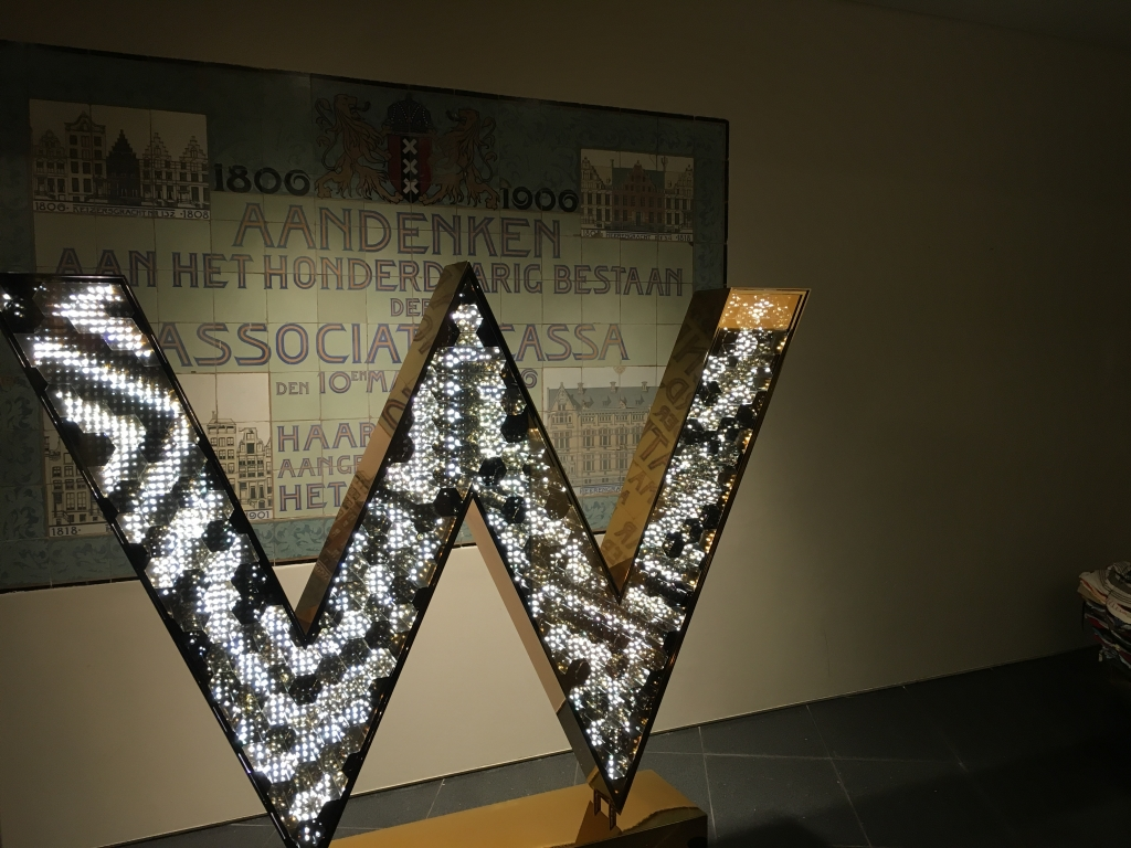 Hotel Review : W アムステルダム WOWスイート (W Amsterdam WOW Suite Bank)