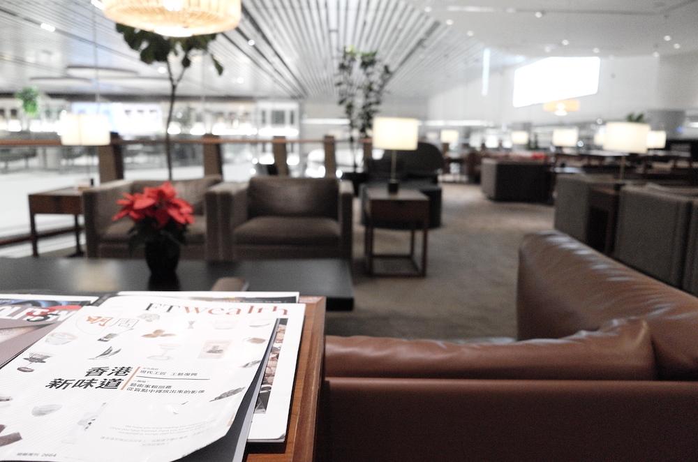 Lounge Review : シンガポール空港(SIN) ターミナル4 キャセイパシフィック航空(CX)ラウンジ