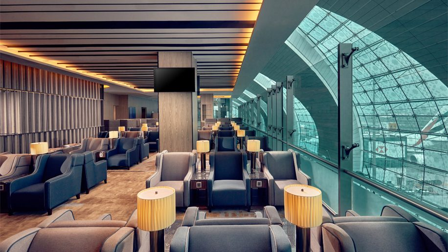 ドバイ空港(DXB)のターミナル3にプラザプレミアムラウンジがオープン