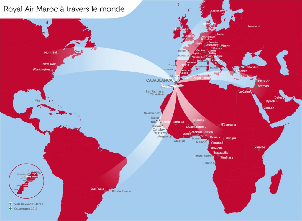 ロイヤル・エア・モロッコ(AT)のワンワールド加盟は2020/4/1から!