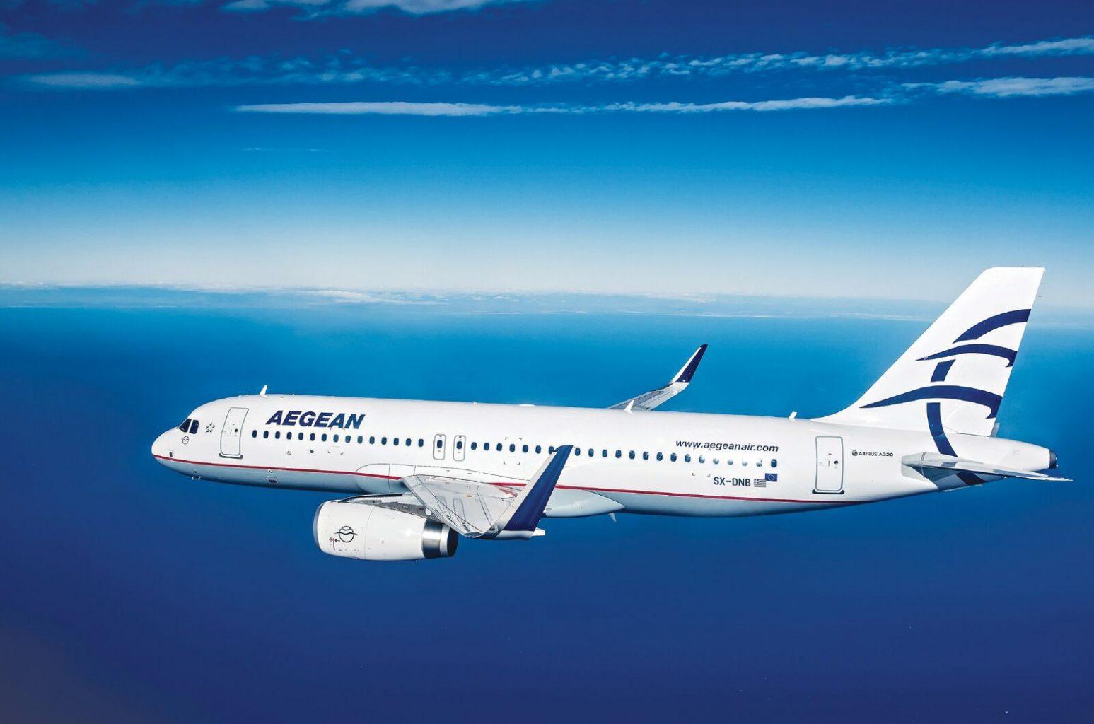 エーゲ航空(A3)の以遠権フライト