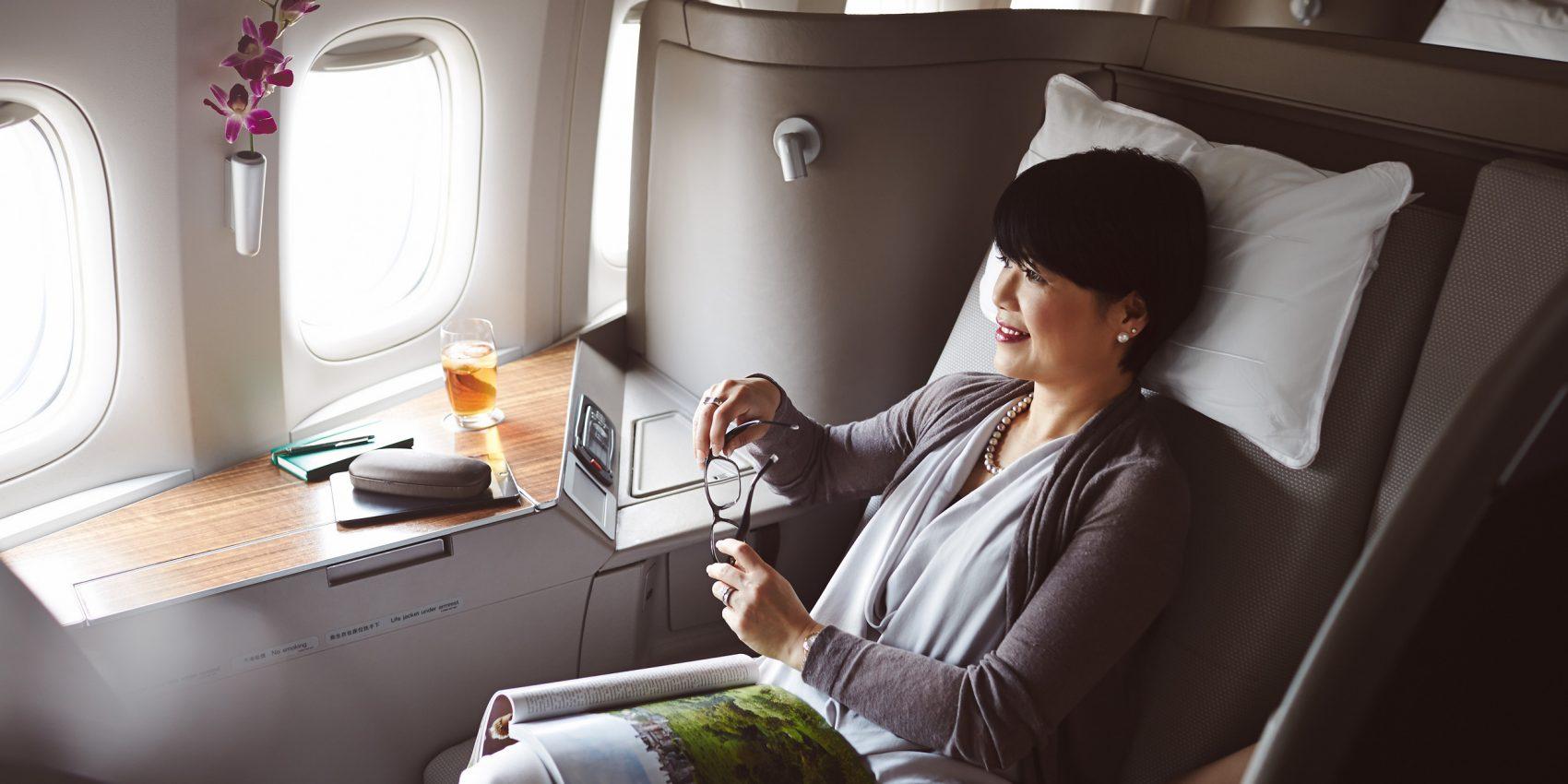 キャセイパシフィック航空(CX)のファーストクラスにお得に搭乗するには