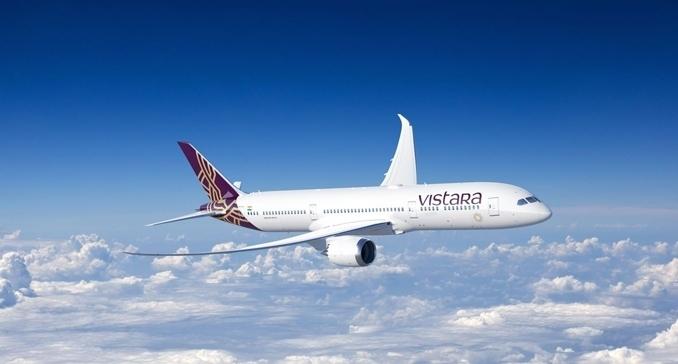 ユナイテッド航空(UK)がインドのヴィスタラ(UK)と提携開始