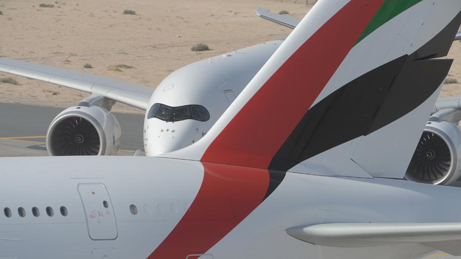 エミレーツ航空(EK)がエアバス A350機を大量発注