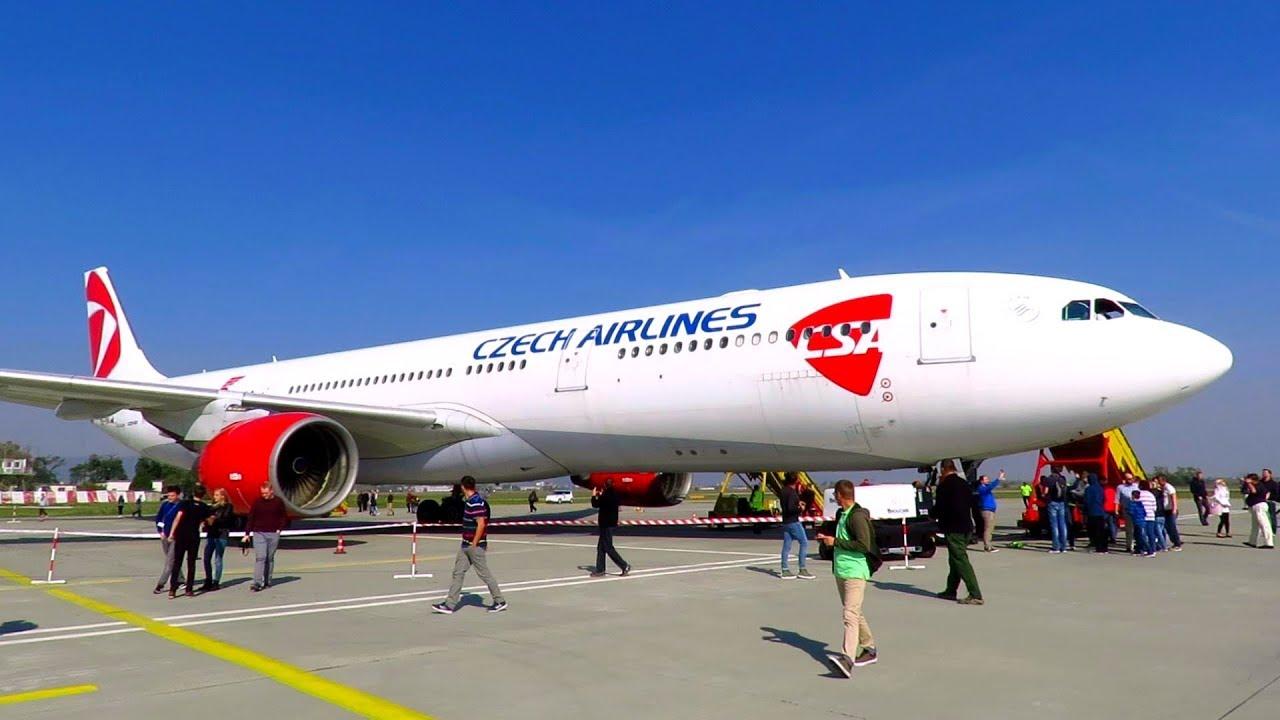 チェコ航空(OK)の以遠権フライト