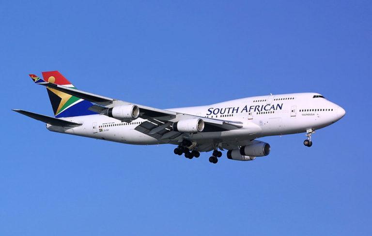 南アフリカ航空(SA)が11路線の運航停止を決定。香港(HKG)も対象