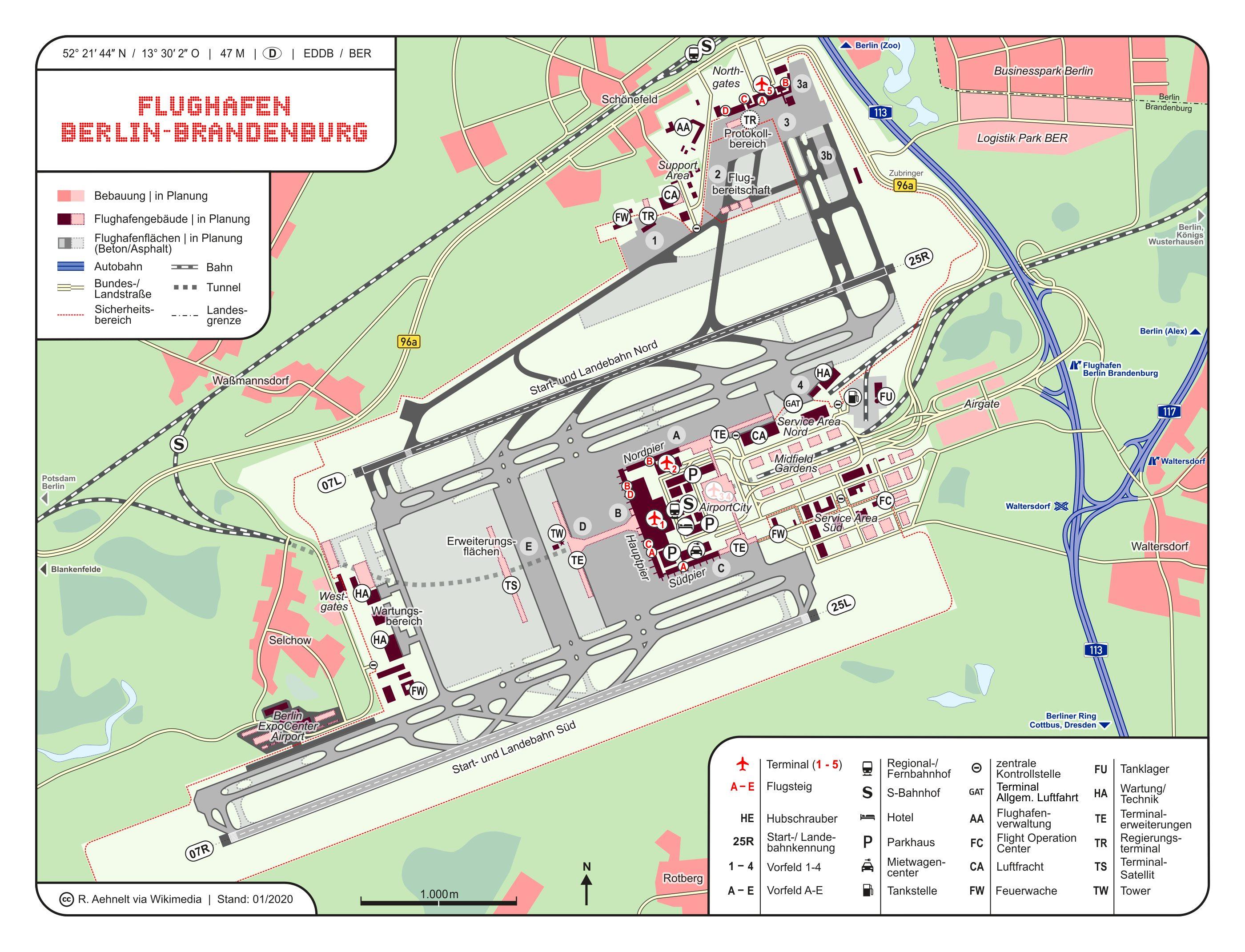 ベルリン・ブランデンブルク空港(BER)が遂にオープン