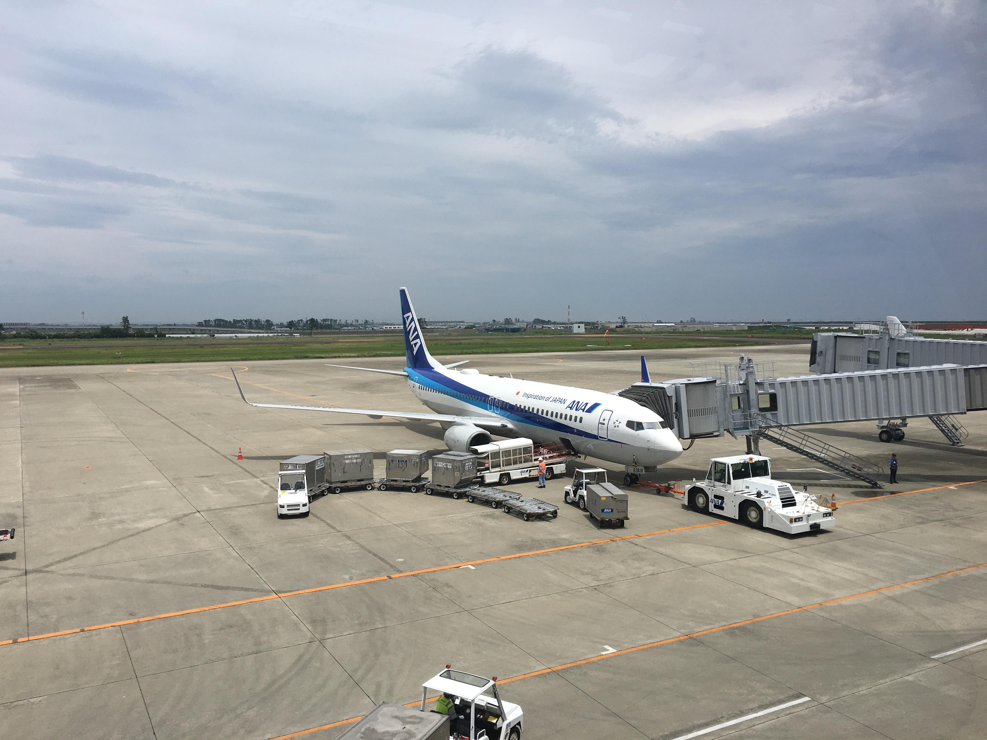 全日空(NH) NH1863(仙台(SDJ) – 那覇(OKA))のWifiスピードチェック
