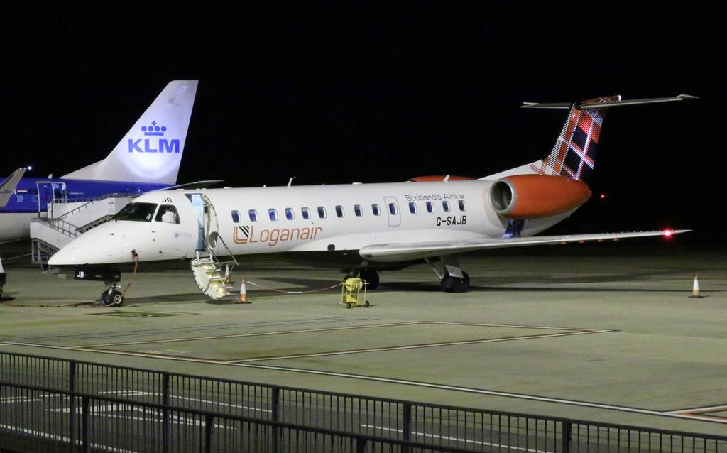 スコットランドのローガンエア(LM)の搭乗とマイレージプログラムを考える