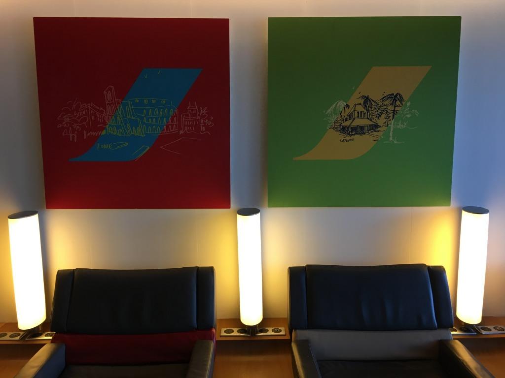 Lounge Review : パリ・シャルルドゴール空港(CDG) エールフランス航空(AF)ラウンジ(ターミナル2E)