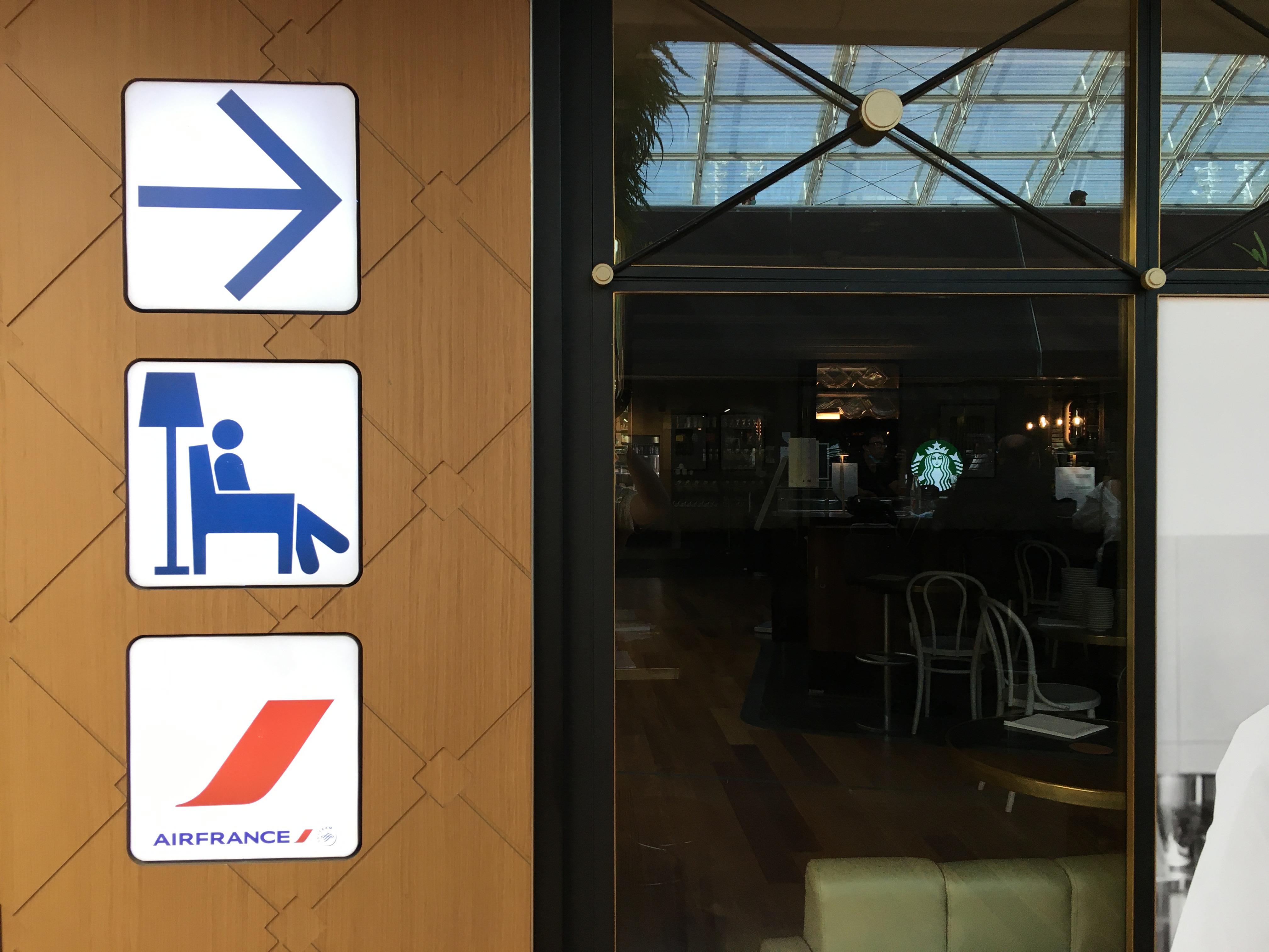 Lounge Review : パリ・シャルルドゴール空港(CDG) エールフランス航空(AF)ラウンジ(ターミナル2F)
