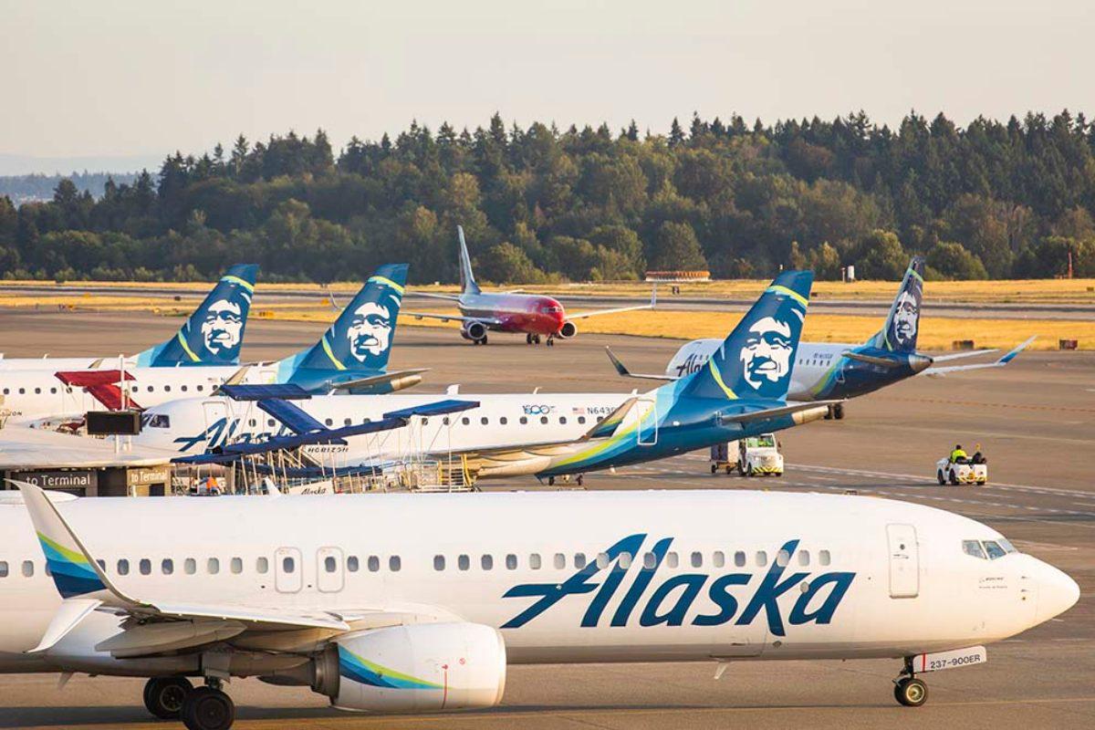 アラスカ航空(AS)とマイクロソフトが意外な分野で提携