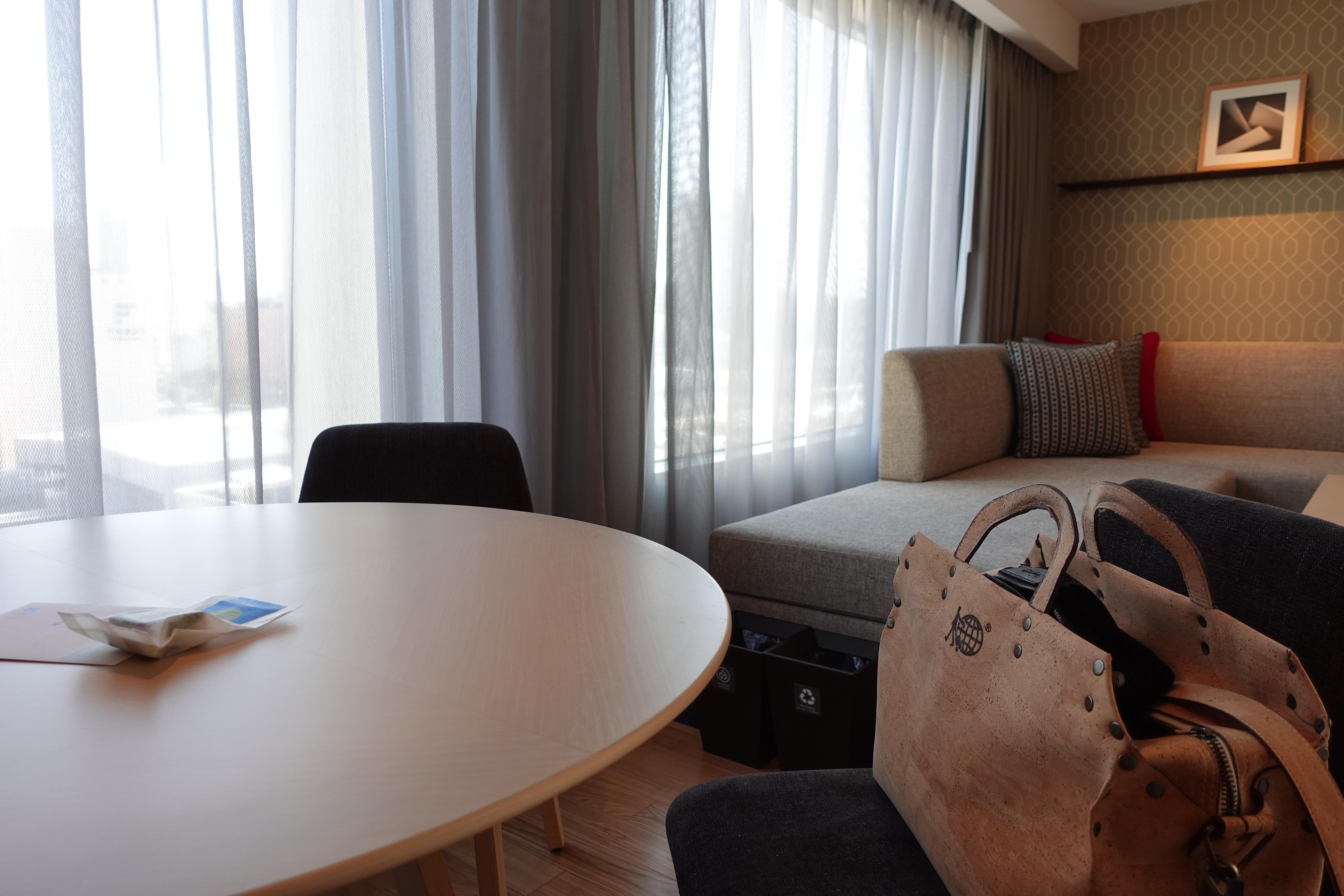 ハイアット ライフタイムグローバリストへの道#62(ハイアットハウス金沢(Hyatt House Kanazawa) キッチン コーナー スイート ツイン(Kitchen Corner Suite Twin Room))