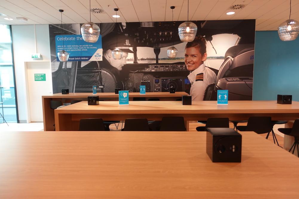 Lounge Review : アムステルダム空港(AMS) KLMオランダ航空(KL) クラウンラウンジ(Crown Lounge) シェンゲン協定エリア内