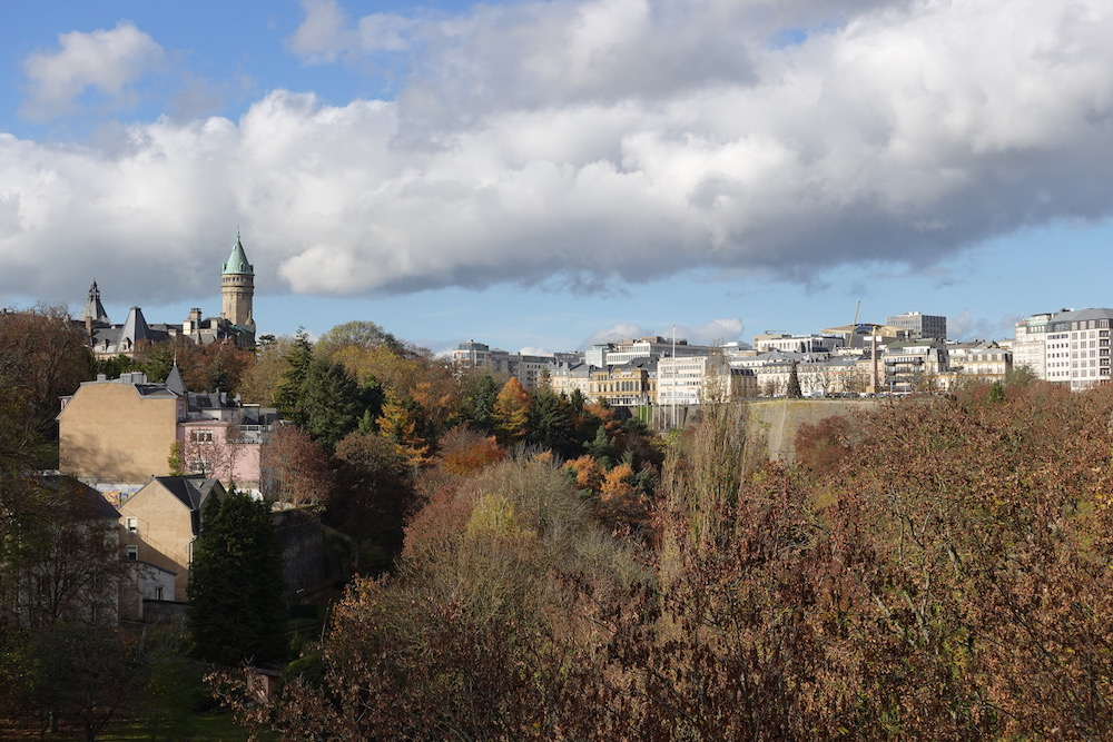 A Luxembourg Travelogue : Walking around city(2020年11月ルクセンブルク旅行記)