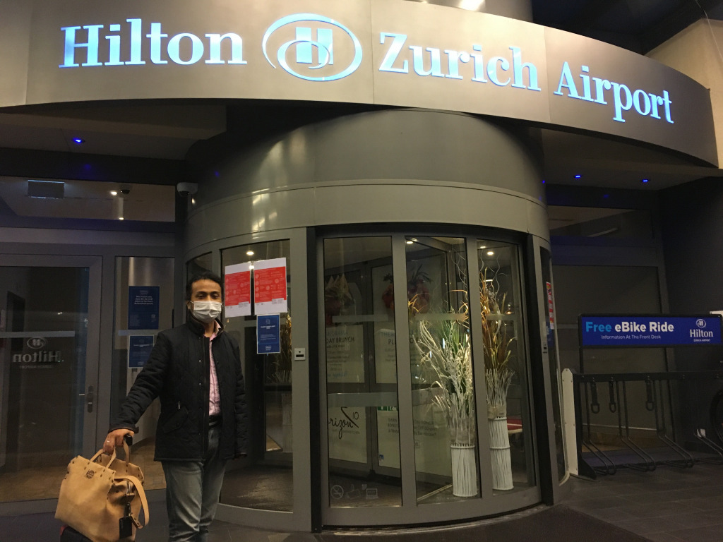 Hotel Review : ヒルトンチューリッヒエアポート  ファミリールーム(Hilton Zurich Airport King Family Room)