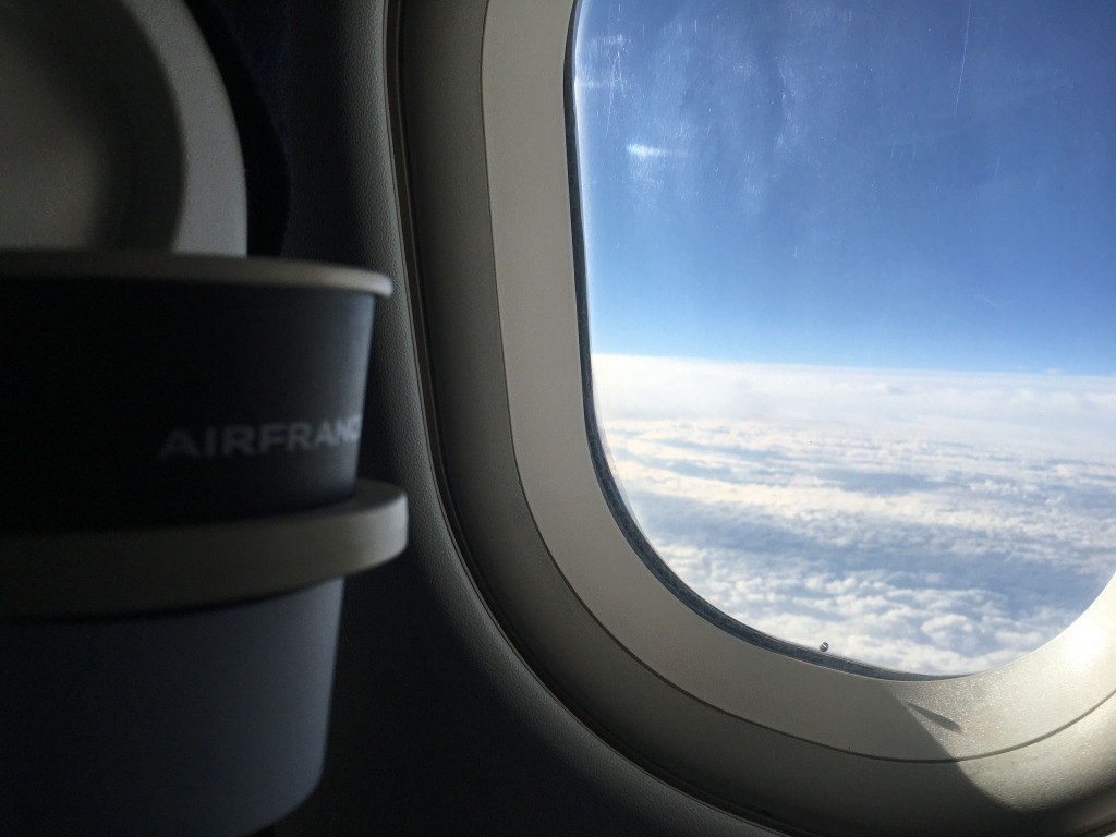 Business Class Review : エールフランス航空(AF) AF1741(アムステルダム(AMS) – パリシャルルドゴール(CDG))