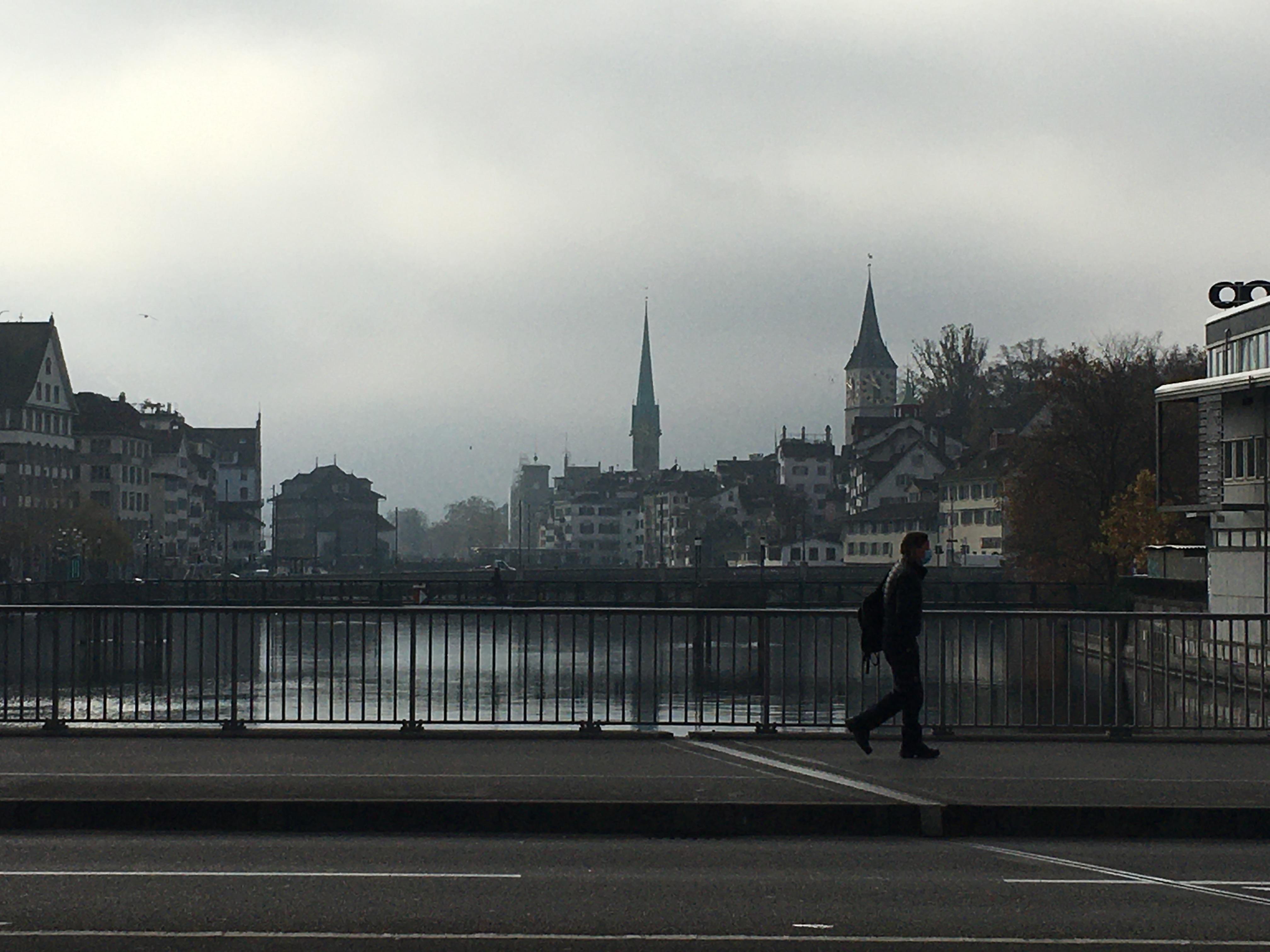 A Switzerland Travelogue : Walking around cities(2020年11月スイス旅行記)