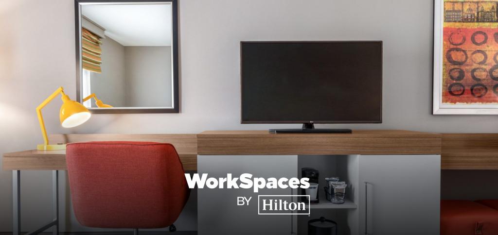 ヒルトンのデイユースプラン 「WorkSpace by Hilton」