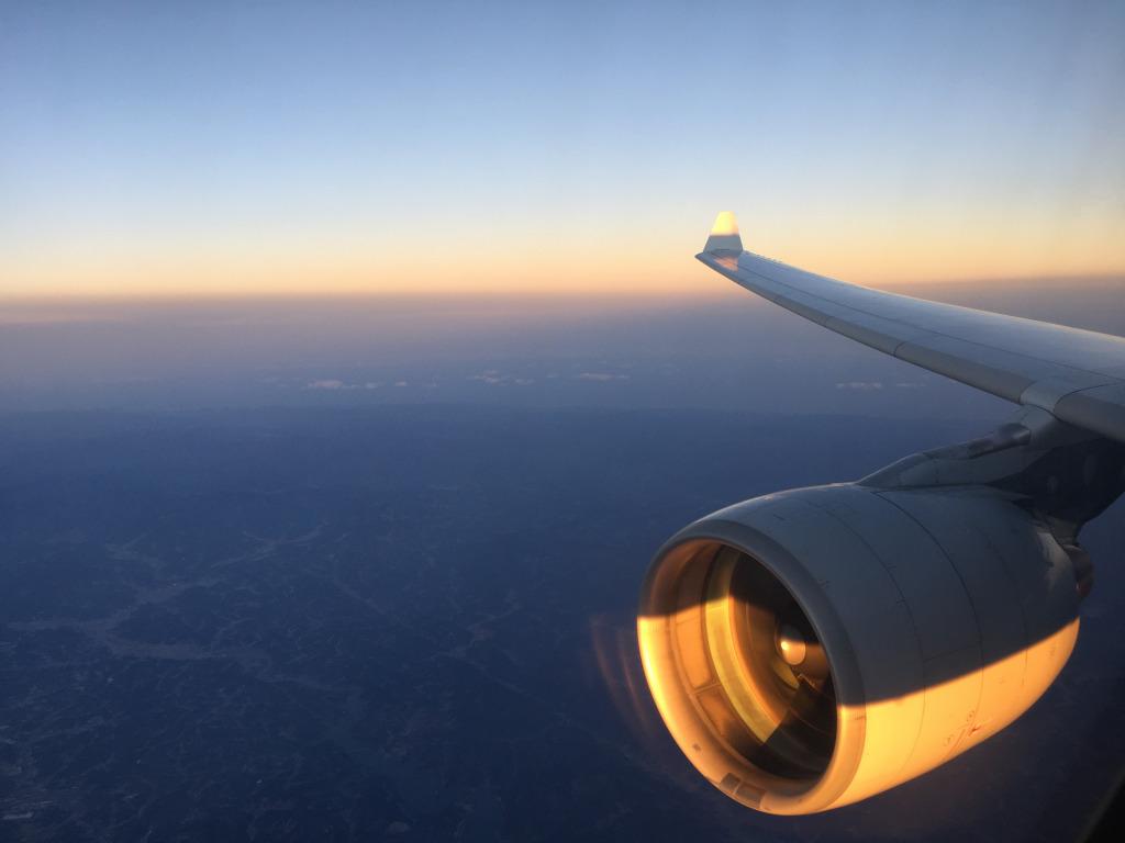 Business Class Review : 大韓航空(KE) KE704 成田(NRT) – ソウル仁川(ICN) 機内食はヴィーガンミール