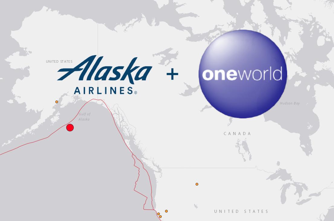 アラスカ航空(AS)の上級会員取得要件が変わります