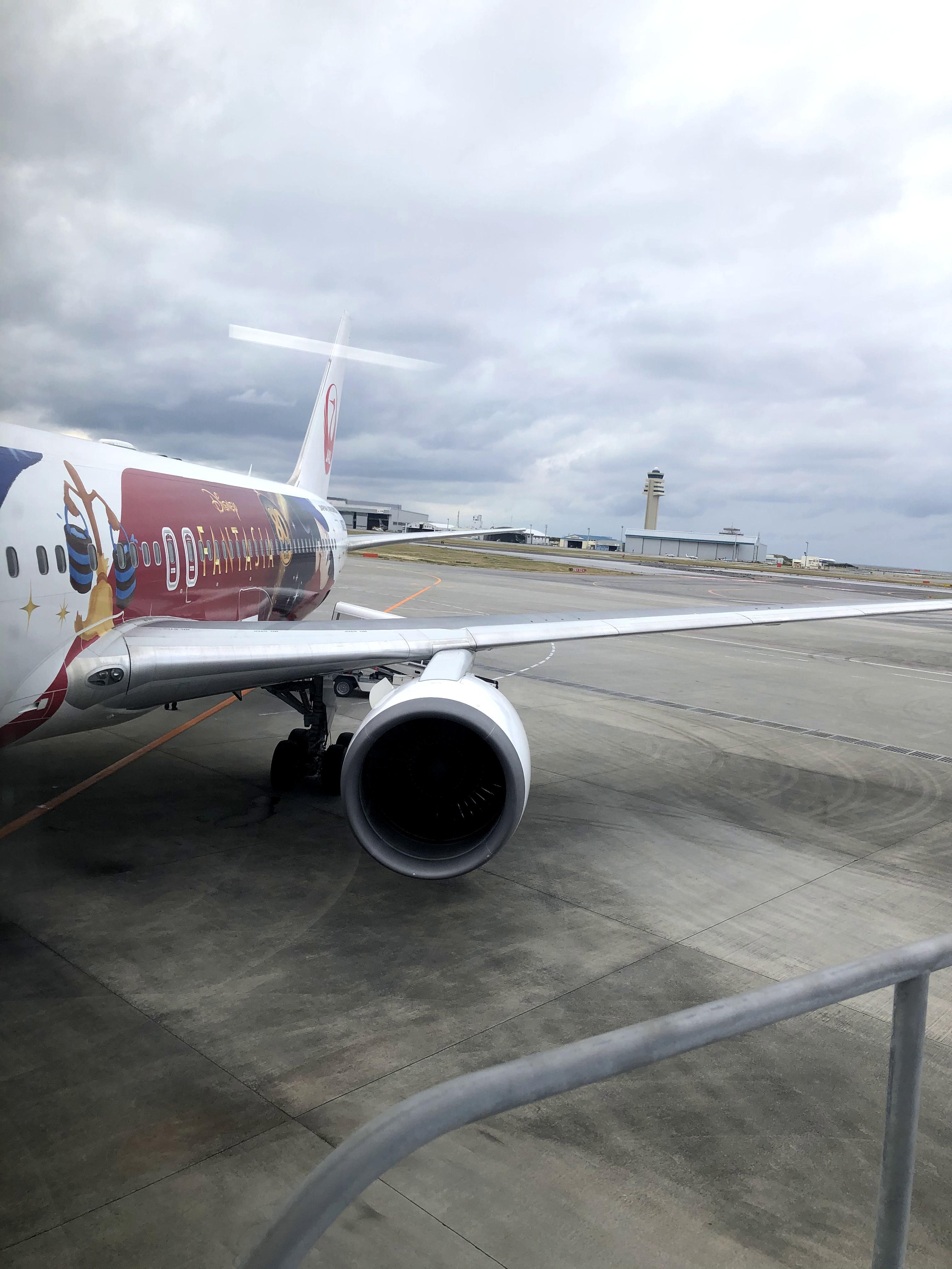 日本航空(JL) JL912(那覇(OKA) – 羽田(HND)) JAL DREAM EXPRESS FANTASIA 80のWiFiスピードチェック