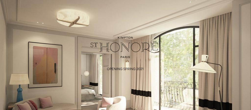 IHGホテルグループのキンプトンがパリにオープン(2021年6月)