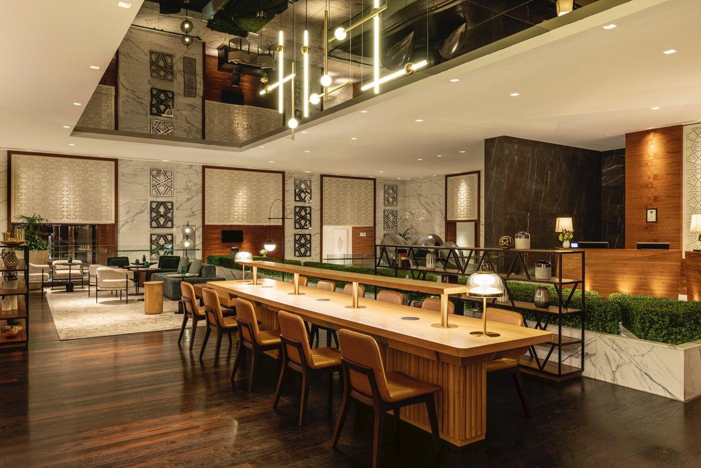 シェラトンのホテルコンセプト・デザインが一新されました
