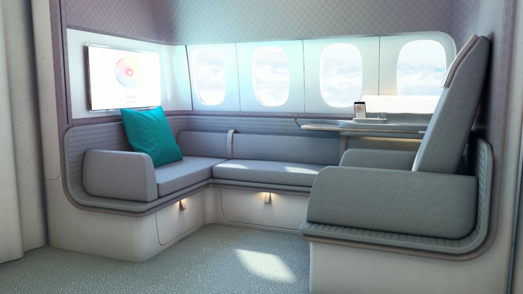 キャセイパシフィック航空(CX)の新しいファーストクラス座席