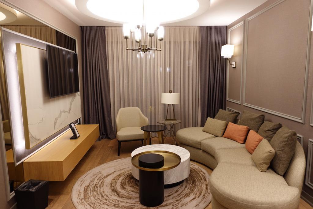 Hotel Review : ソフィテル イスタンブール タクシム プレステージスイート(Sofitel Istanbul Tasim Prestige Suite Room)