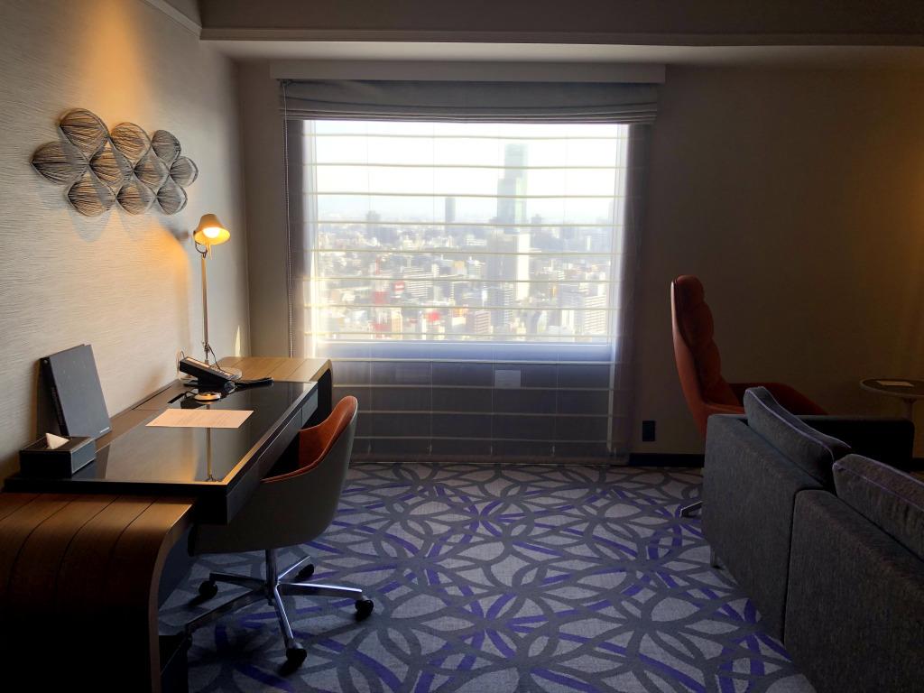 Hotel Review : スイスホテル 南海大阪 ジュニアスイート(Swissôtel Nankai Osaka Junior Suite)