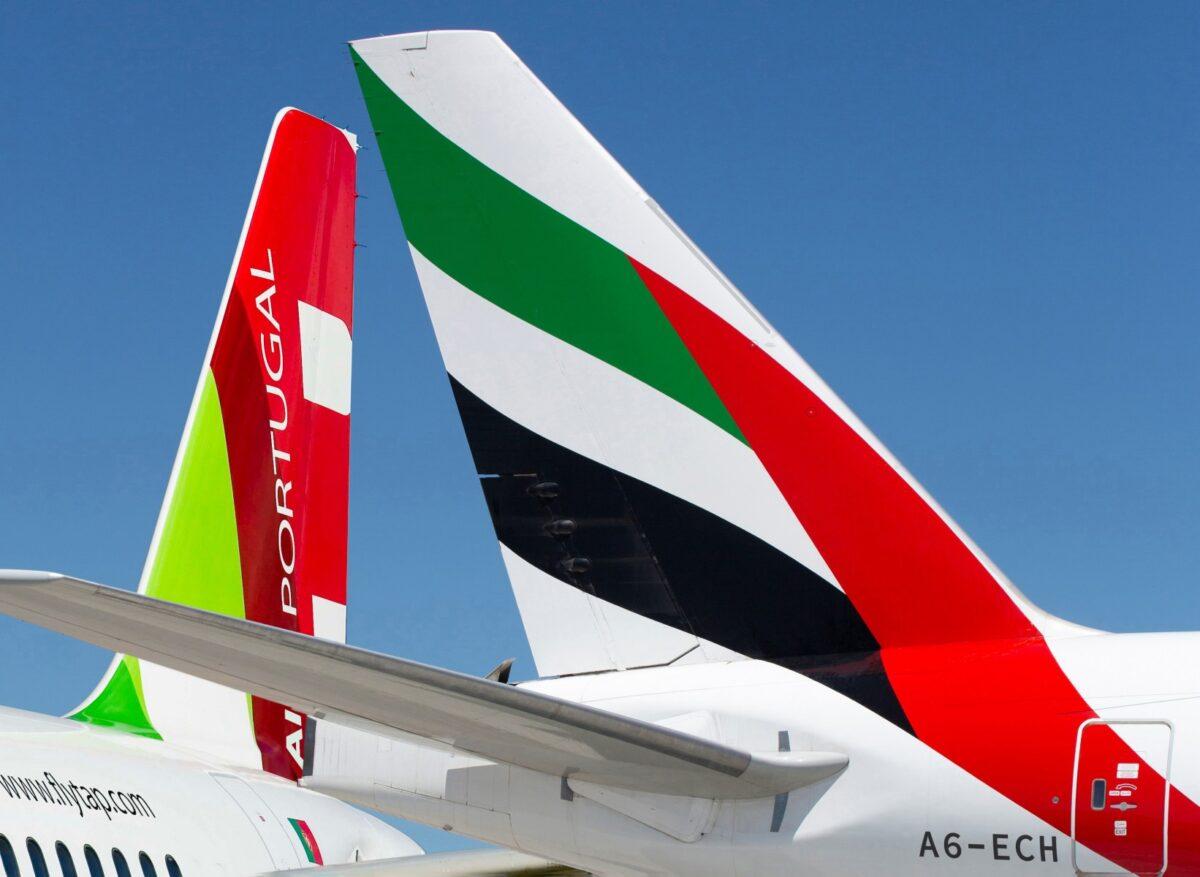 エミレーツ航空(EK)とTAPポルトガル航空(TP)が提携を強化