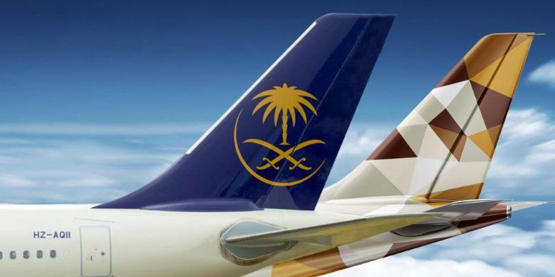 エティハド航空(EY)とサウディア(SV)がマイレージの相互提携を開始