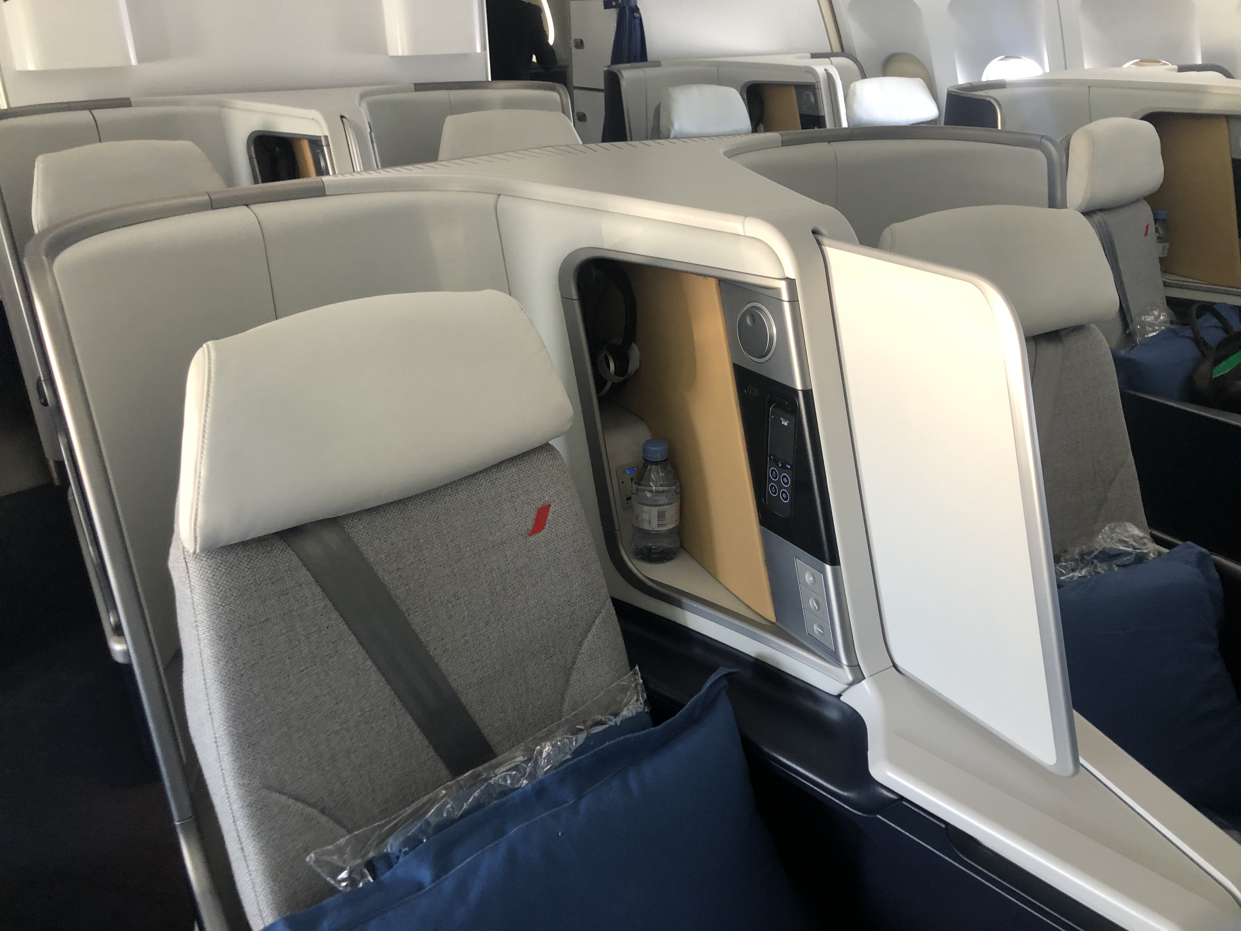 Business Class Review : エールフランス航空(AF) AF570(パリシャルルドゴール(CDG) – カイロ(CAI))