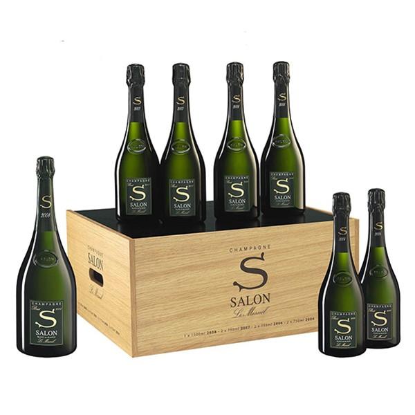 JAL(JL)がファーストクラスで提供しているシャンパン「Salon」をオンラインで販売