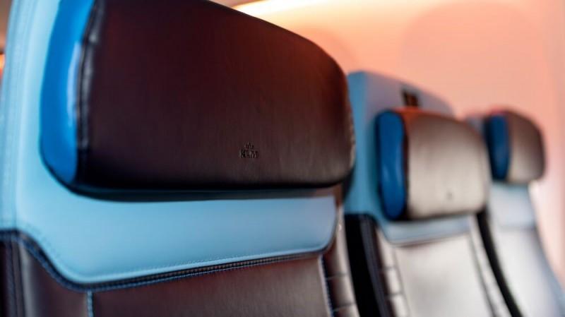 KLMオランダ航空(KL)のヨーロッパ向け機材シートがリニューアル