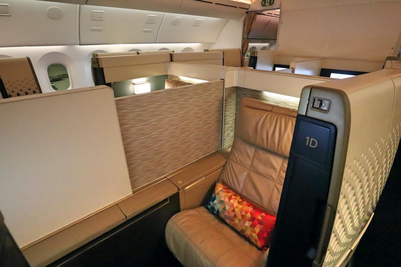 エティハド航空(EY)のファーストクラスに搭乗したい!