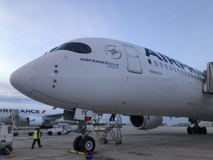 Business Class Review : エールフランス航空(AF) AF551(カイロ(CAI) – パリシャルルドゴール(CDG)) エアバス A350