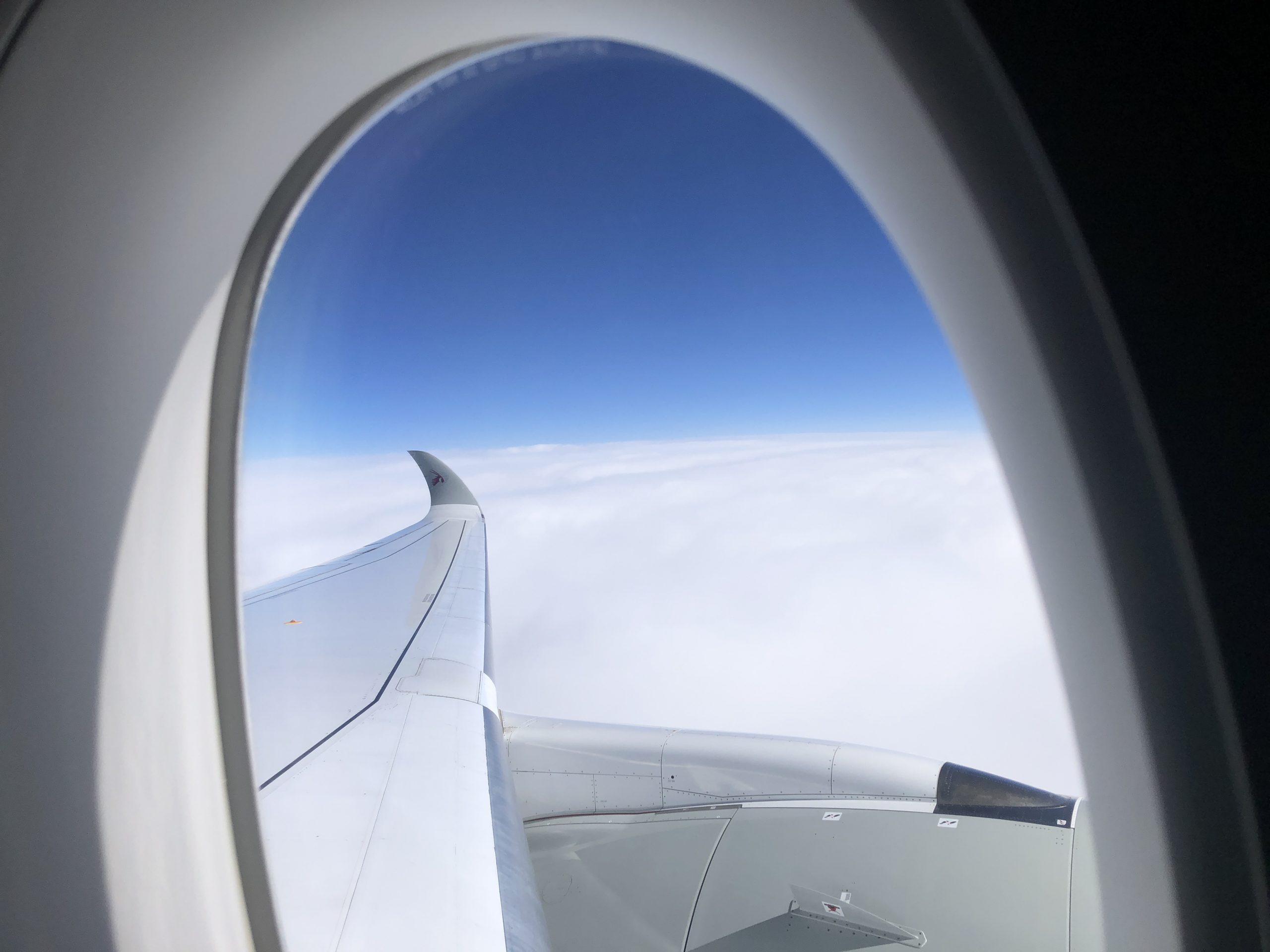 Business Class Review : カタール航空(QR) QR42 パリ・シャルルドゴール(CDG) – ドーハ(DOH) エアバス A350-1000 QSuite