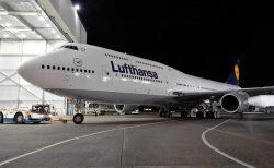 ルフトハンザ・ドイツ航空(LH)のボーイング B747が羽田(HND)に戻ってきます
