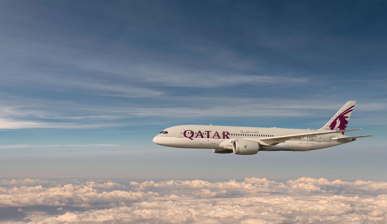 カタール航空(QR)の新しいボーイング B787-9機材が登場