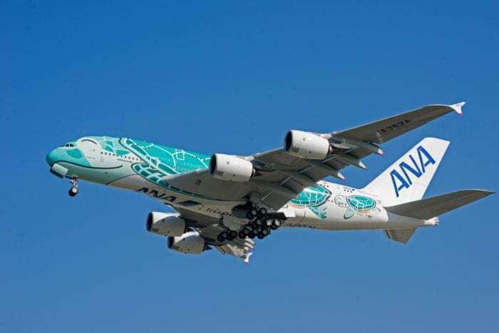 ANA(NH)のエアバス A380が帰ってくる! 公式サイトに出てきた