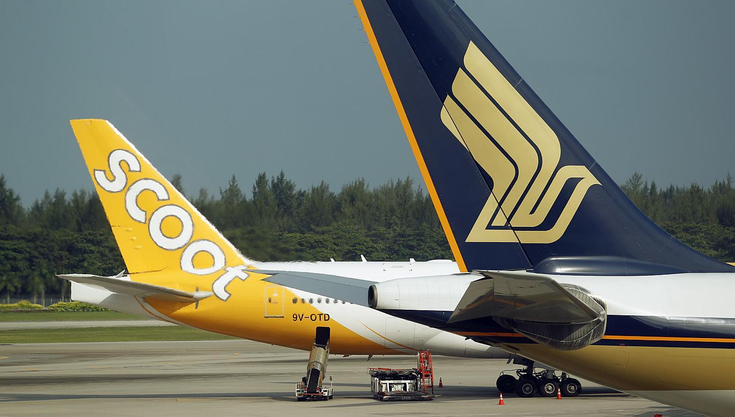 シンガポール航空(SQ)のボーイング B787機材の一部がScoot(TR)へ