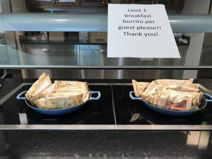 マリオットの朝食無料に関する問題が解決(2021/7/1から)