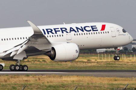 エールフランス航空(AF)のエアバス A350が羽田(HND)にやって来た!