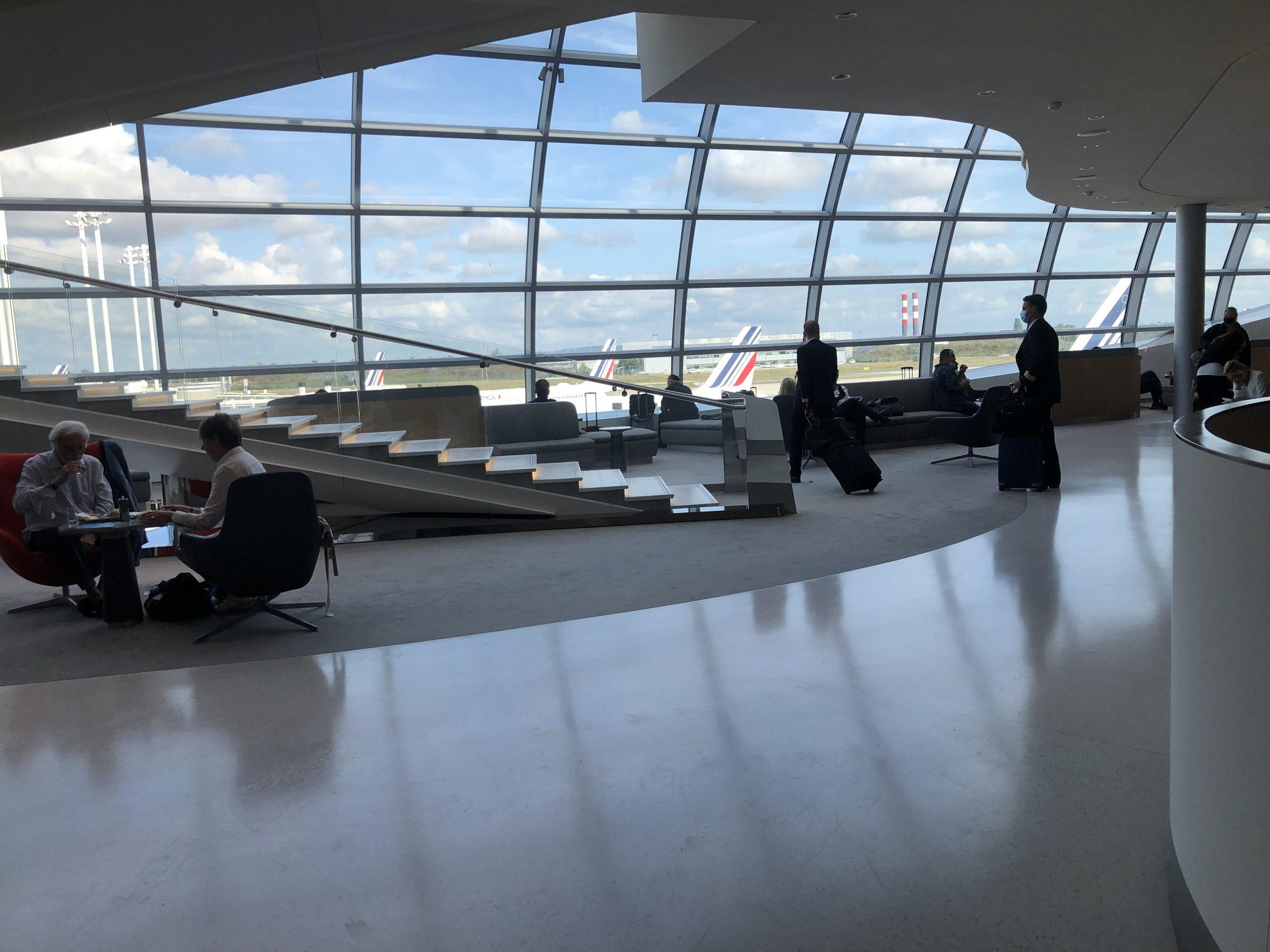 Lounge Review : [2021年8月以降]パリ・シャルルドゴール空港(CDG) エールフランス航空(AF)ラウンジ(ターミナル2F)