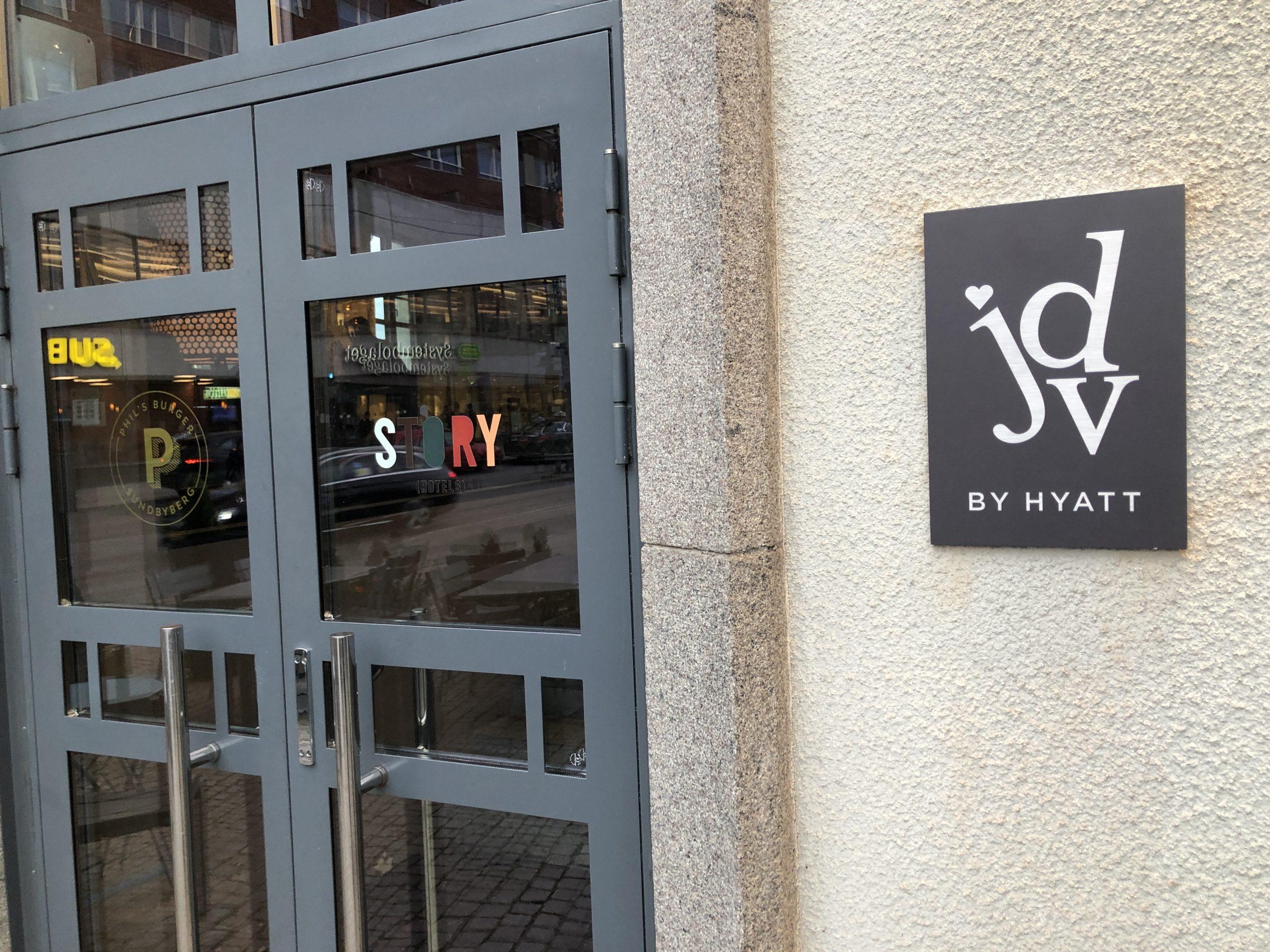 ハイアット ライフタイムグローバリストへの道#73(Story Hotel Signalfabriken, part of JdV by Hyatt)